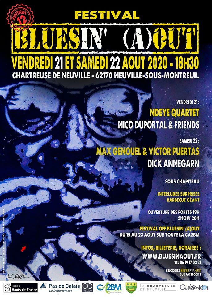 LA BILLETTERIE POUR LE FESTIVAL OFF « BLUES IN AOÛT » EST OUVERTE !