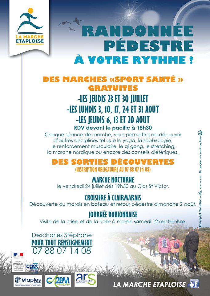 """Randonnée Pédestre - Marche """"Sport Santé"""""""