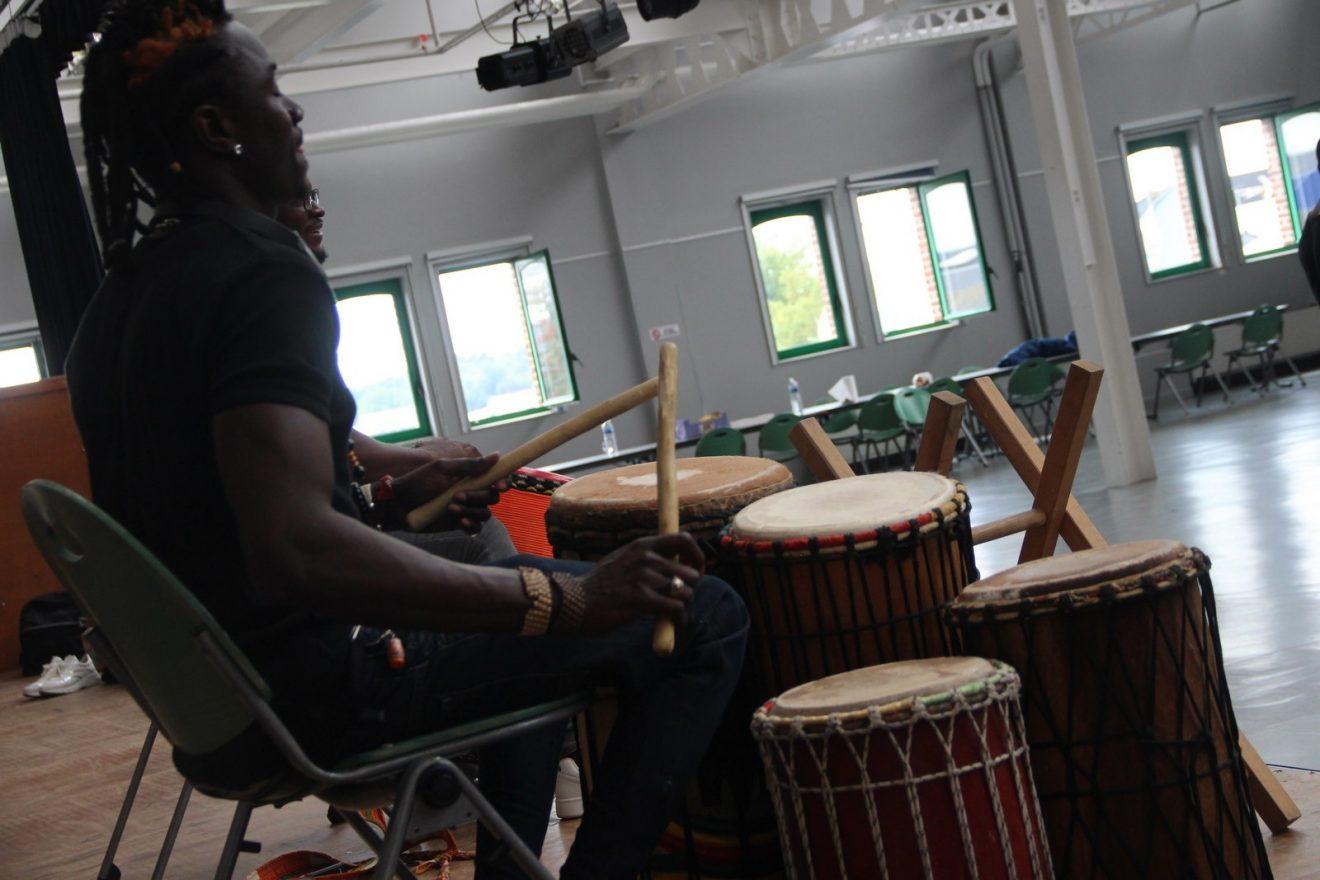 LE FESTIVAL DES ARTS AFRICIANS A DÉBUTÉ A ÉTAPLES SUR MER