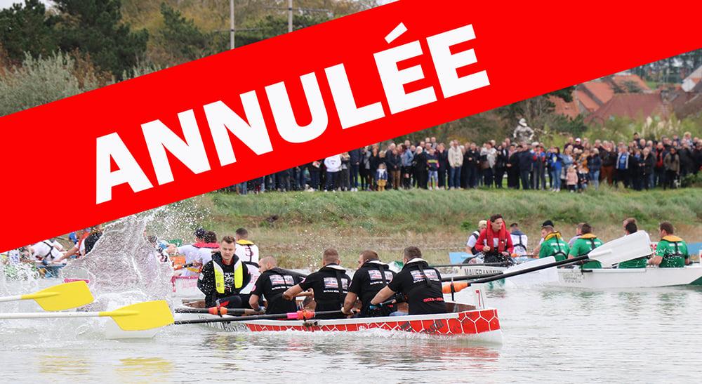 ANNULATION DE LA JOUTE A CANOTES...
