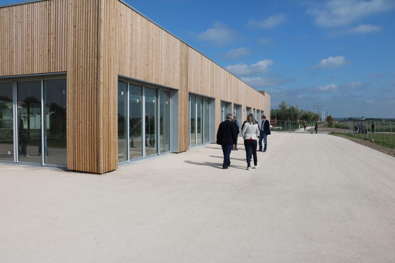 Inauguration du nouveau Centre Nautique de la Maison de la Baie de Canche