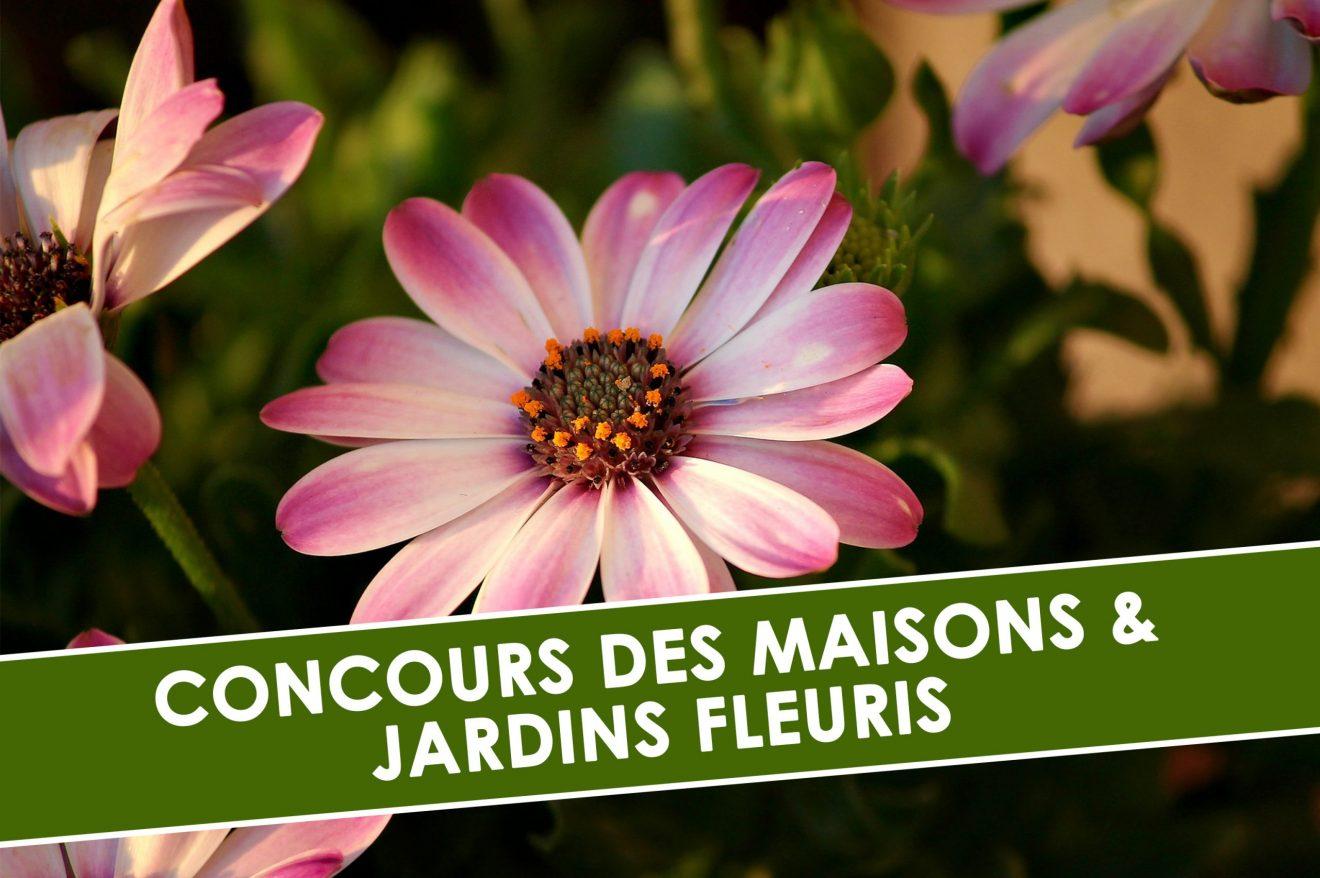 NOUVELLE ÉDITION DU CONCOURS DES MAISONS ET JARDINS FLEURIS