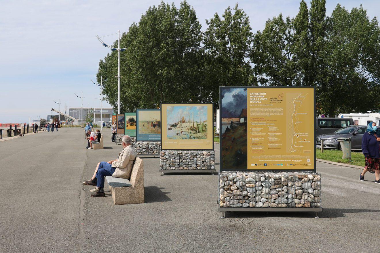 L'ART S'INVITE SUR LE PORT D'ÉTAPLES-SUR-MER