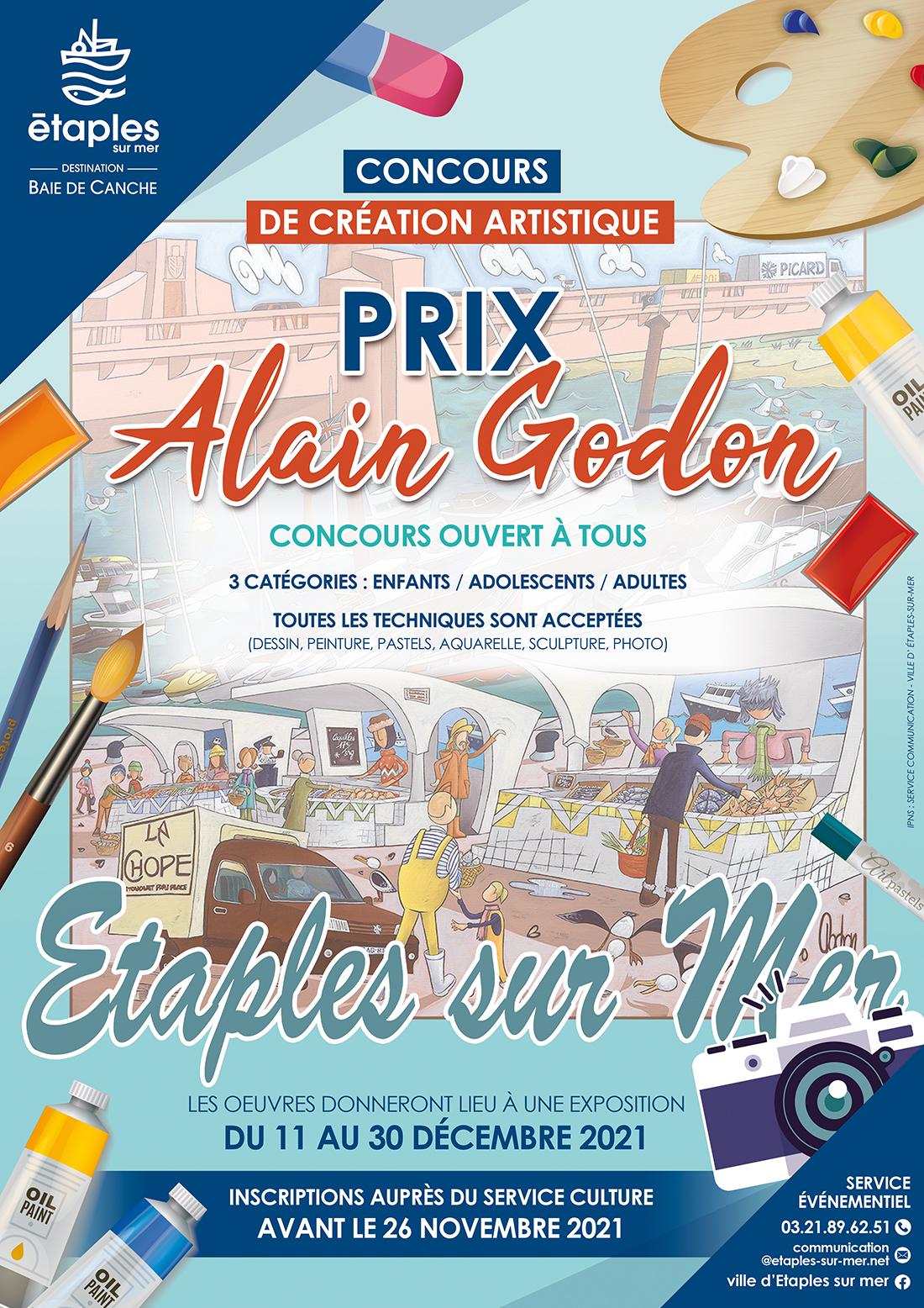 CONCOURS DE CRÉATION ARTISTIQUE : LE PRIX ALAIN GODON