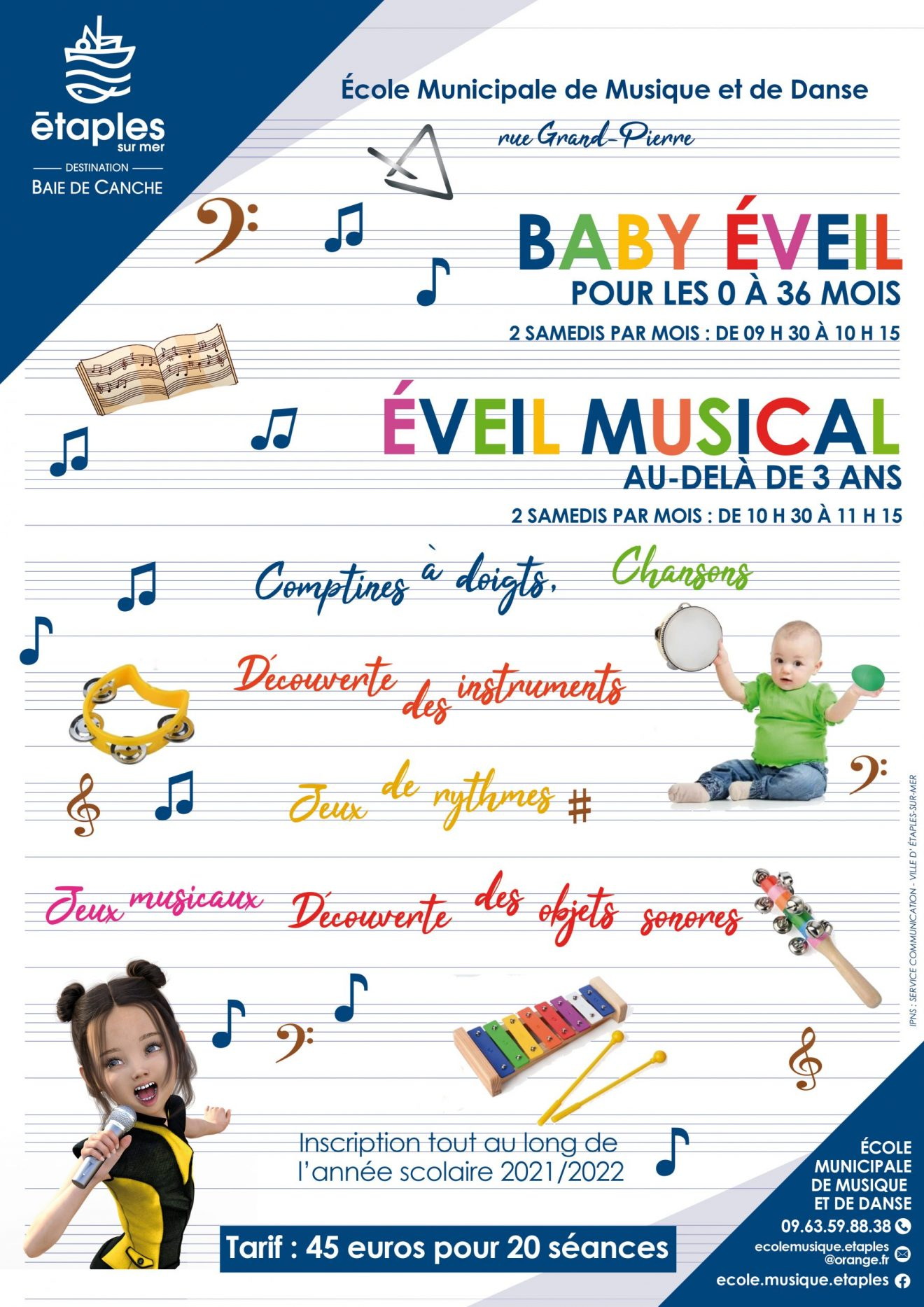 BABY ÉVEIL et ÉVEIL MUSICAL